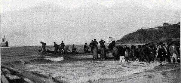 1910 Foto naufragio Gipúzcoa 1