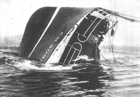 1962 Foto naufragio Kador 1