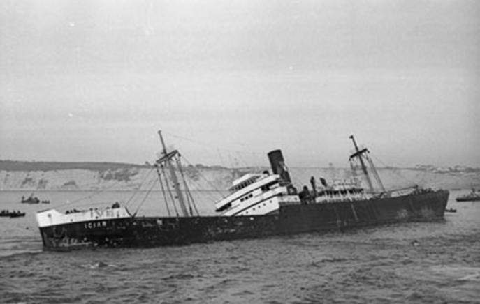 1963 Foto naufragio Iciar 1