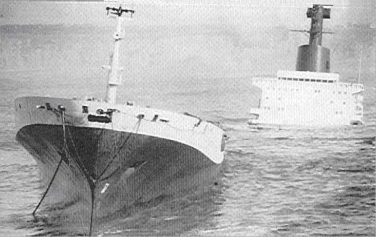 1984 Foto naufragio Jarvis Bay 3