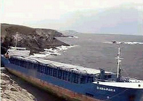 2004 Foto naufragio Diana Uno 1