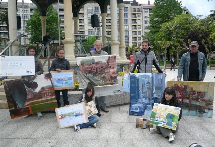 Foto certamen pintura 2010 (ganadores)