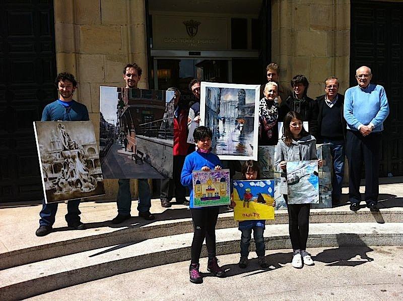 Foto certamen pintura 2013 (ganadores)