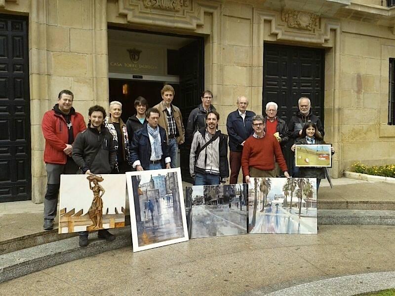 Foto certamen pintura 2014 (ganadores)