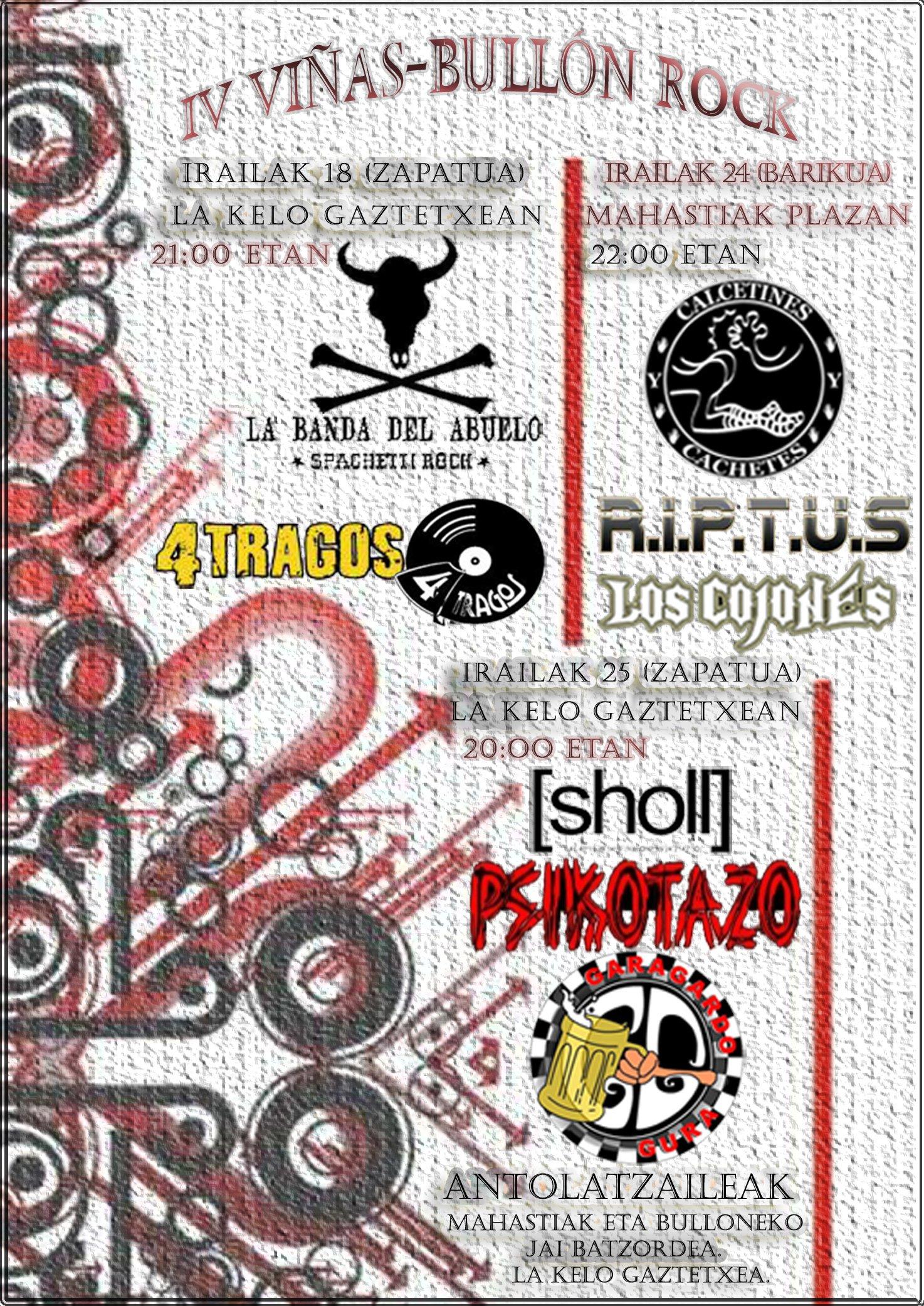 cartel conciertos 2010