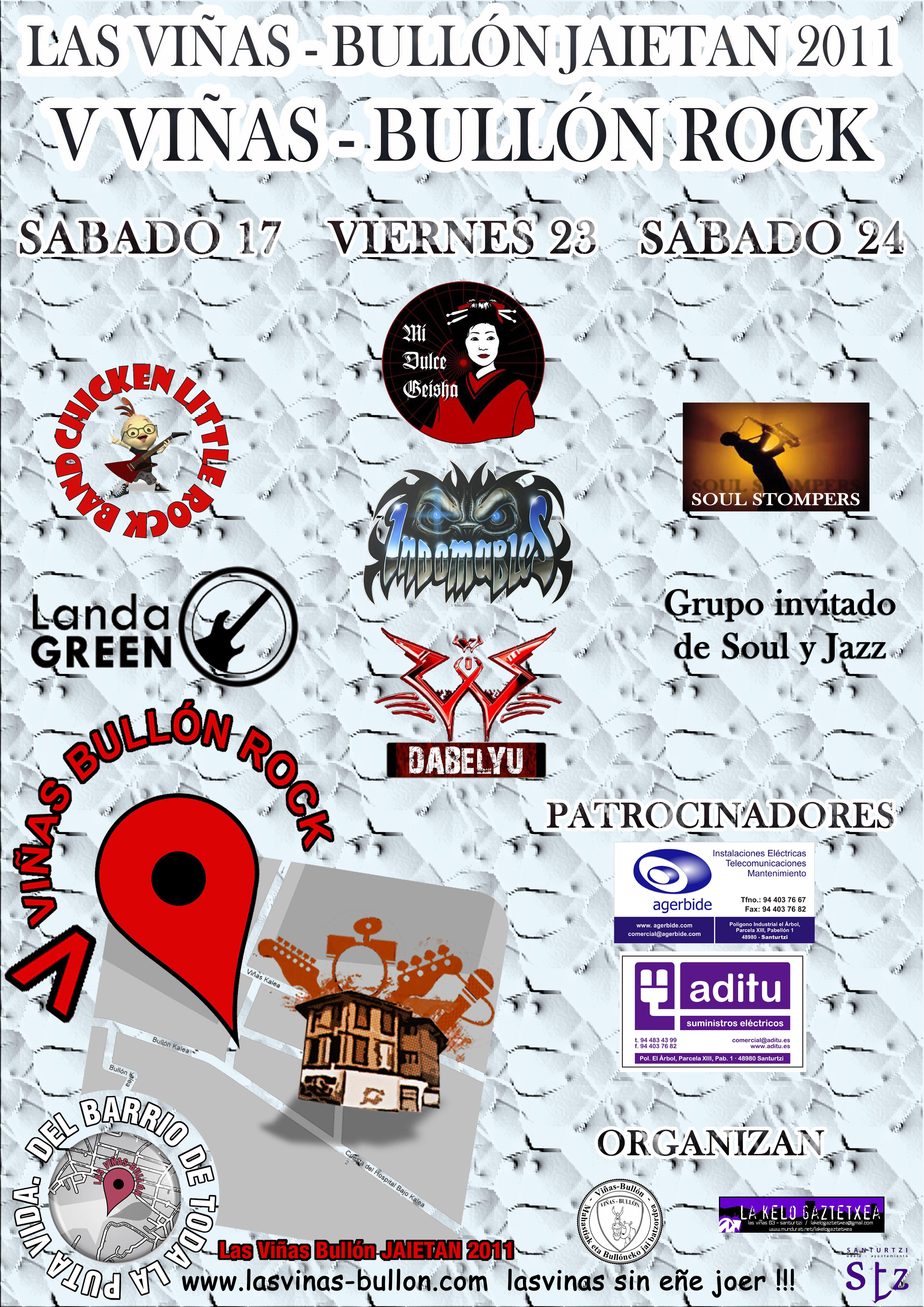 cartel conciertos 2011