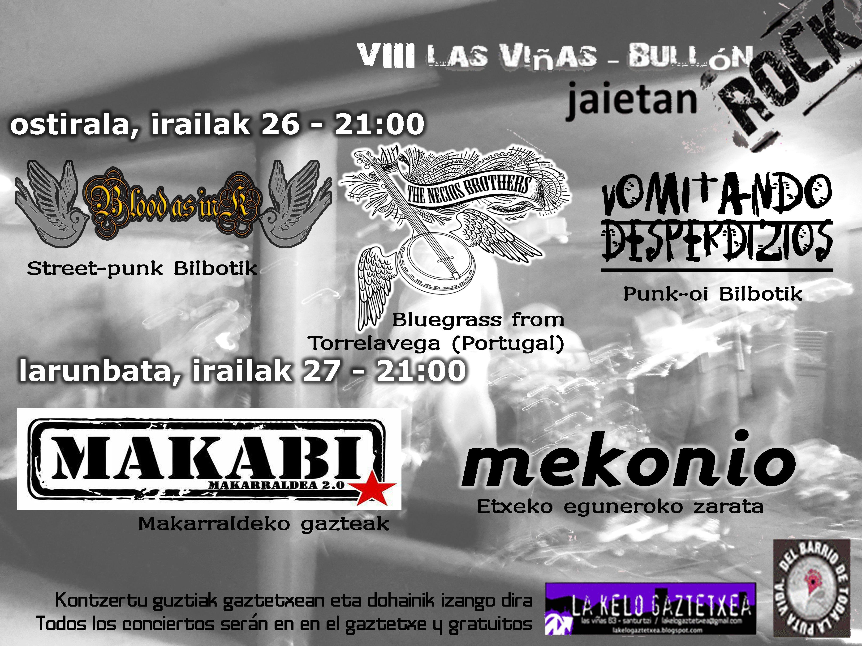 conciertos 2014