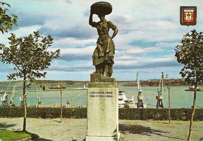 Monumento a la sardinera en Santurtzi-3 (1967)-2