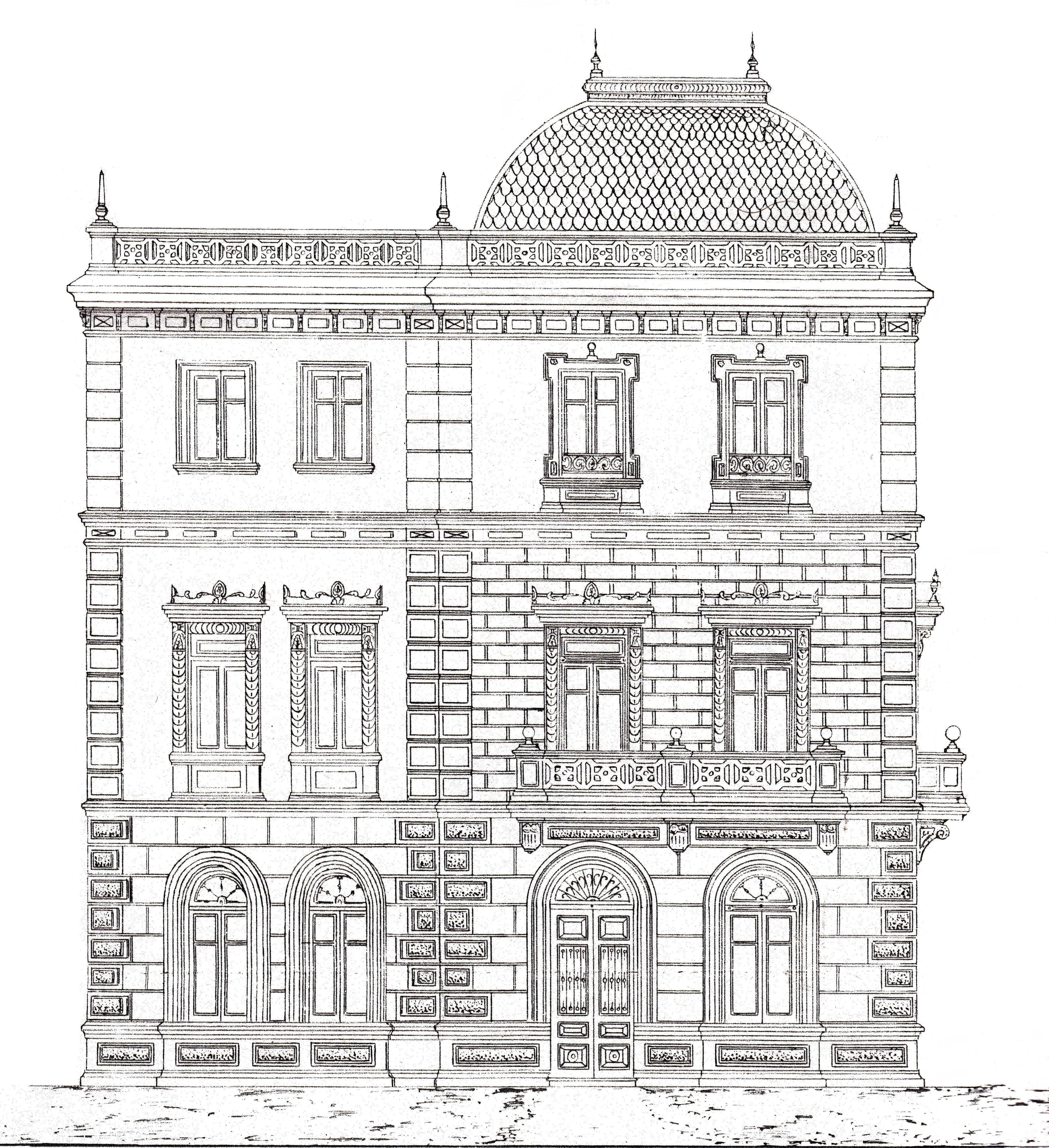Alzado (fachada lateral)