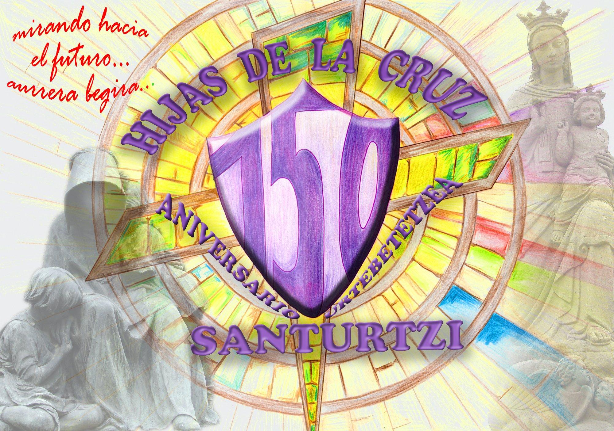 escudo-150-aniversario-hijas-de-a-cruz_colegio