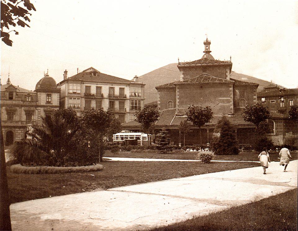 parque e iglesia de san jorge