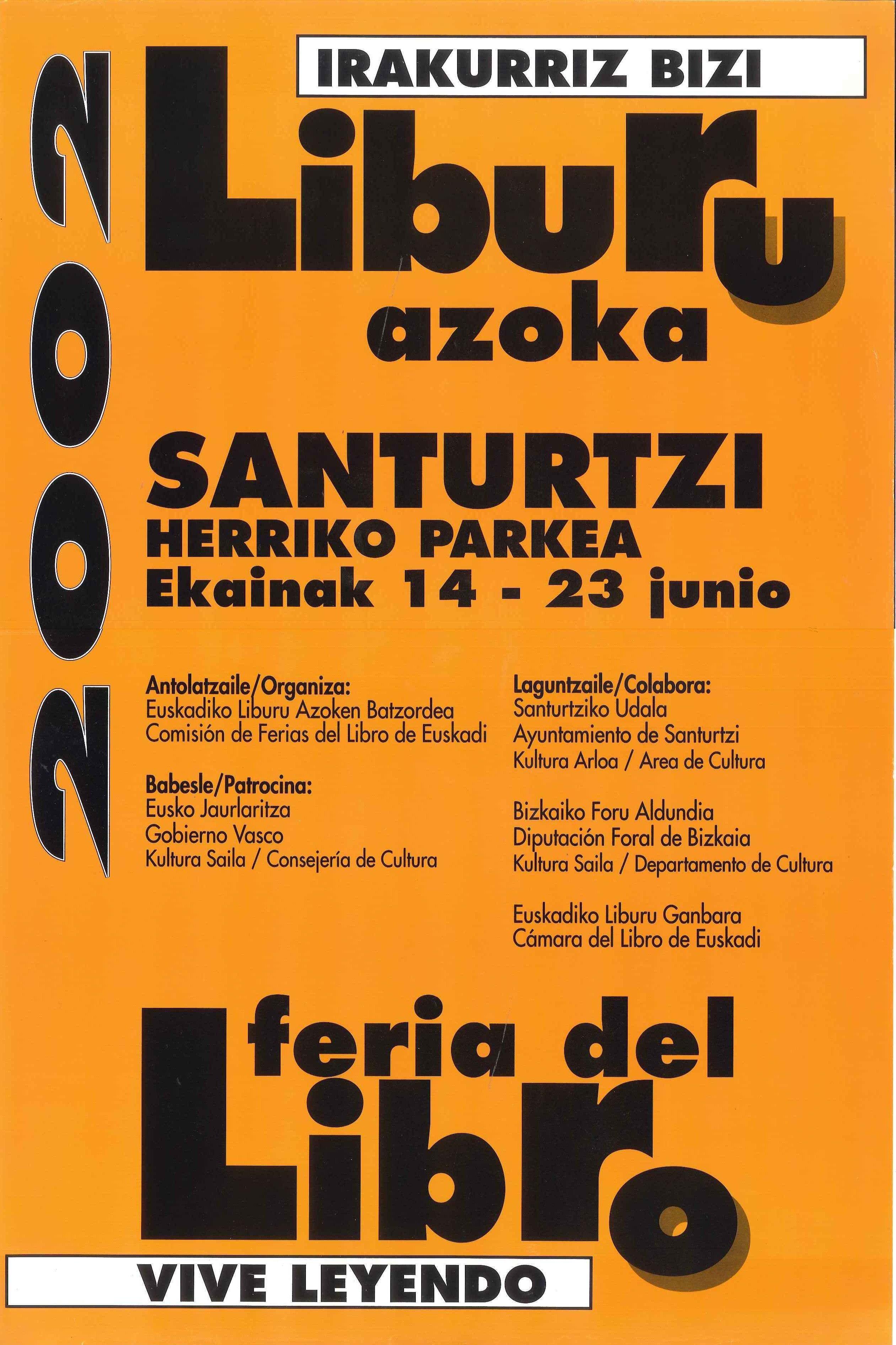 2002 cartel feria libro