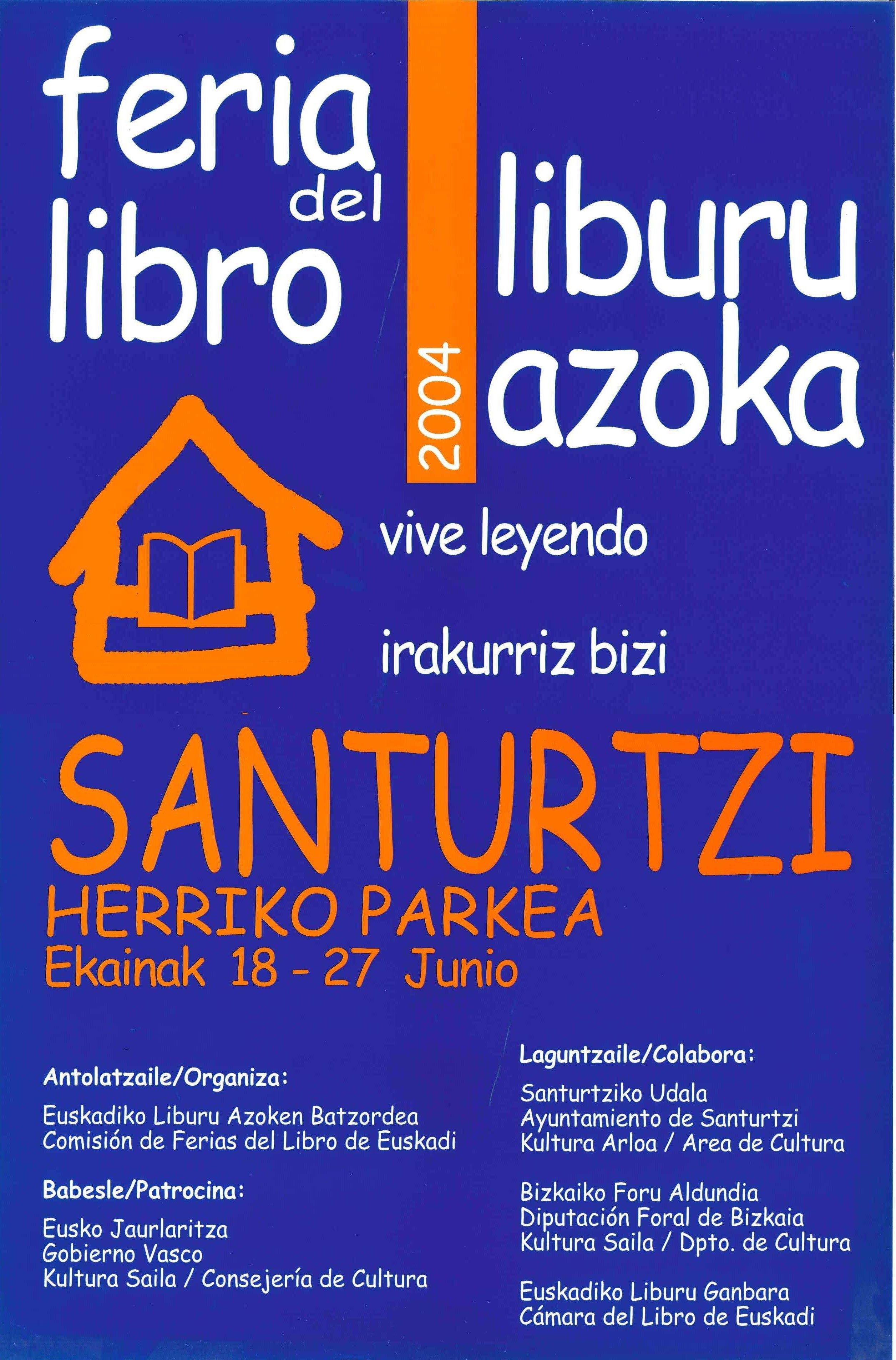 2004 cartel feria libro