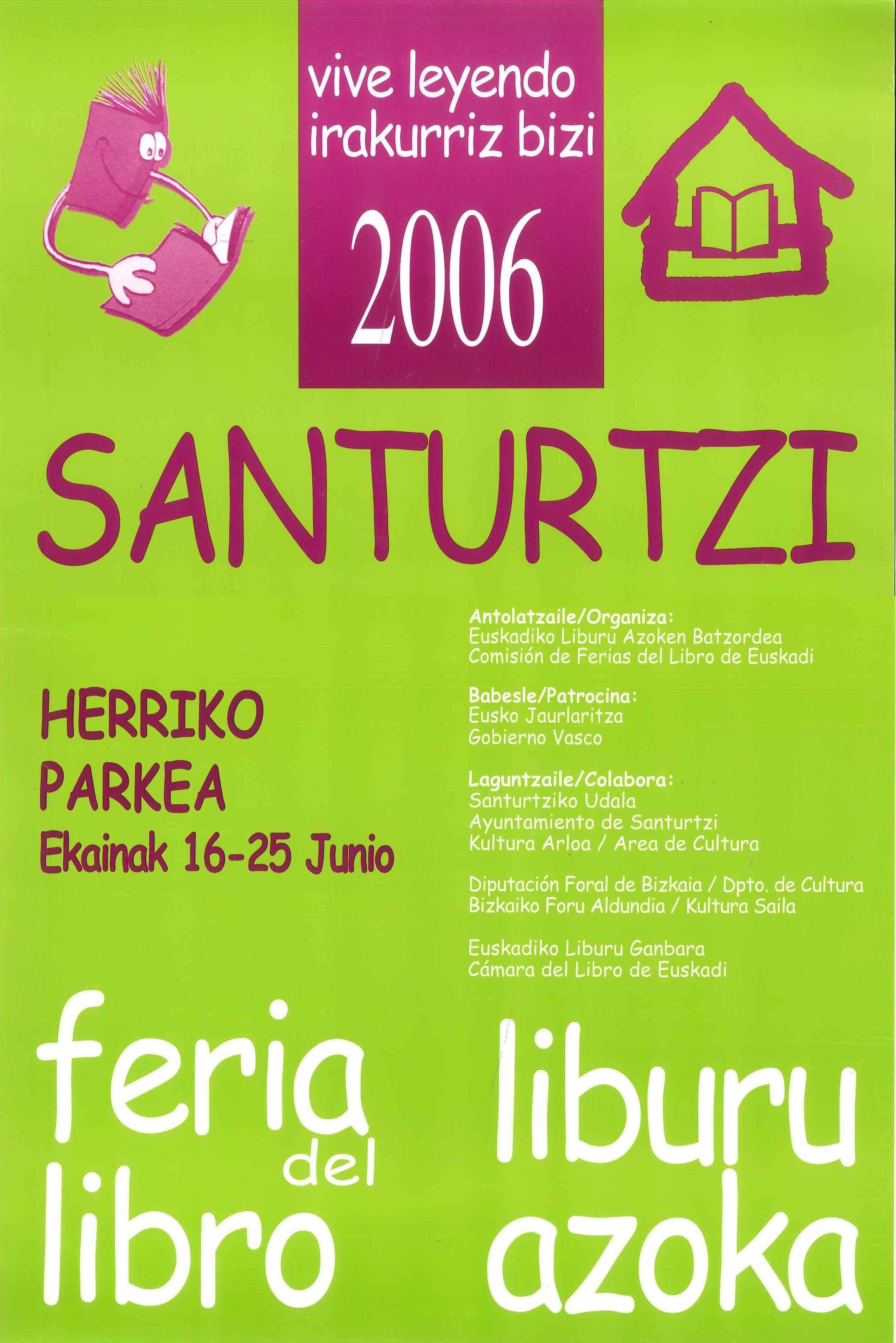 2006 cartel feria libro