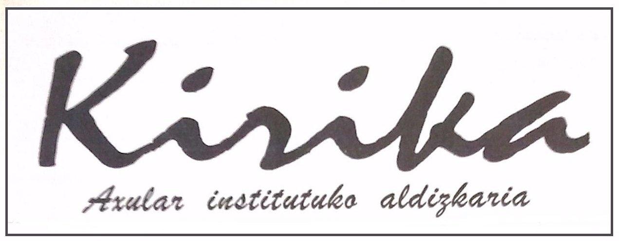 Cabecera Boletín Kirika