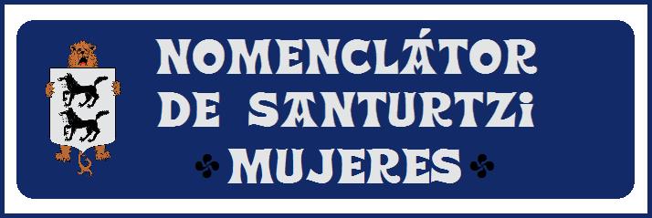 0 Nomenclátor de Santurtzi-Mujeres