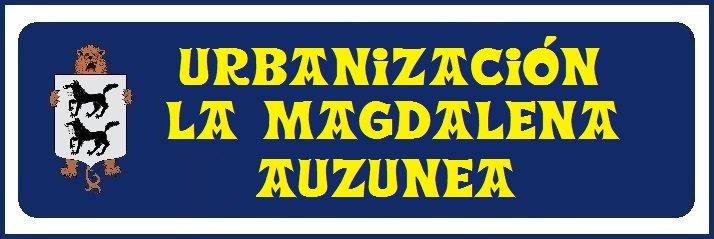 1 Urbanización La Magdalena (no hay placa)