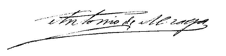 Firma Alcalde - Antonio Alzaga
