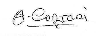 Firma Alcalde Antonio Cortadi