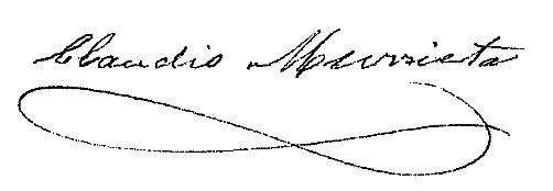 Firma Alcalde - Claudio Murrieta