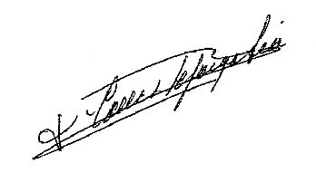 Firma Alcalde - Francisco Calles