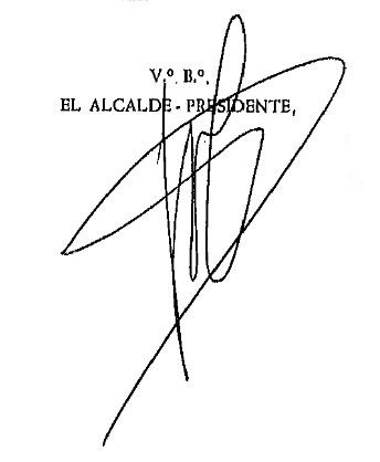 Firma Alcalde - José Antonio Loidi