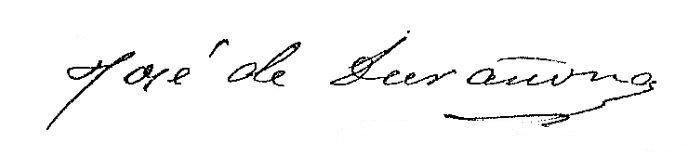 Firma Alcalde - José Durañona