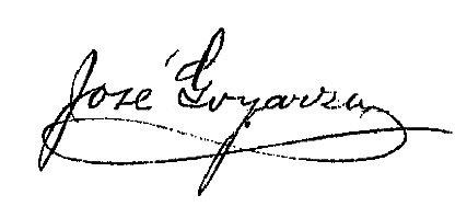 Firma Alcalde - José Goyarzu