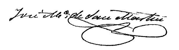 Firma Alcalde - José María San Martín