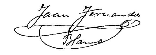 Firma Alcalde - Juan Fernández