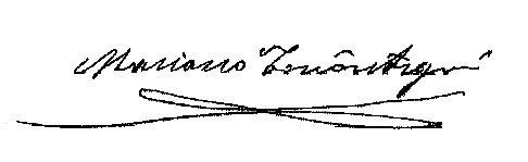 Firma Alcalde - Mariano Torrontegui