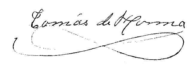 Firma Alcalde - Tomás Horma