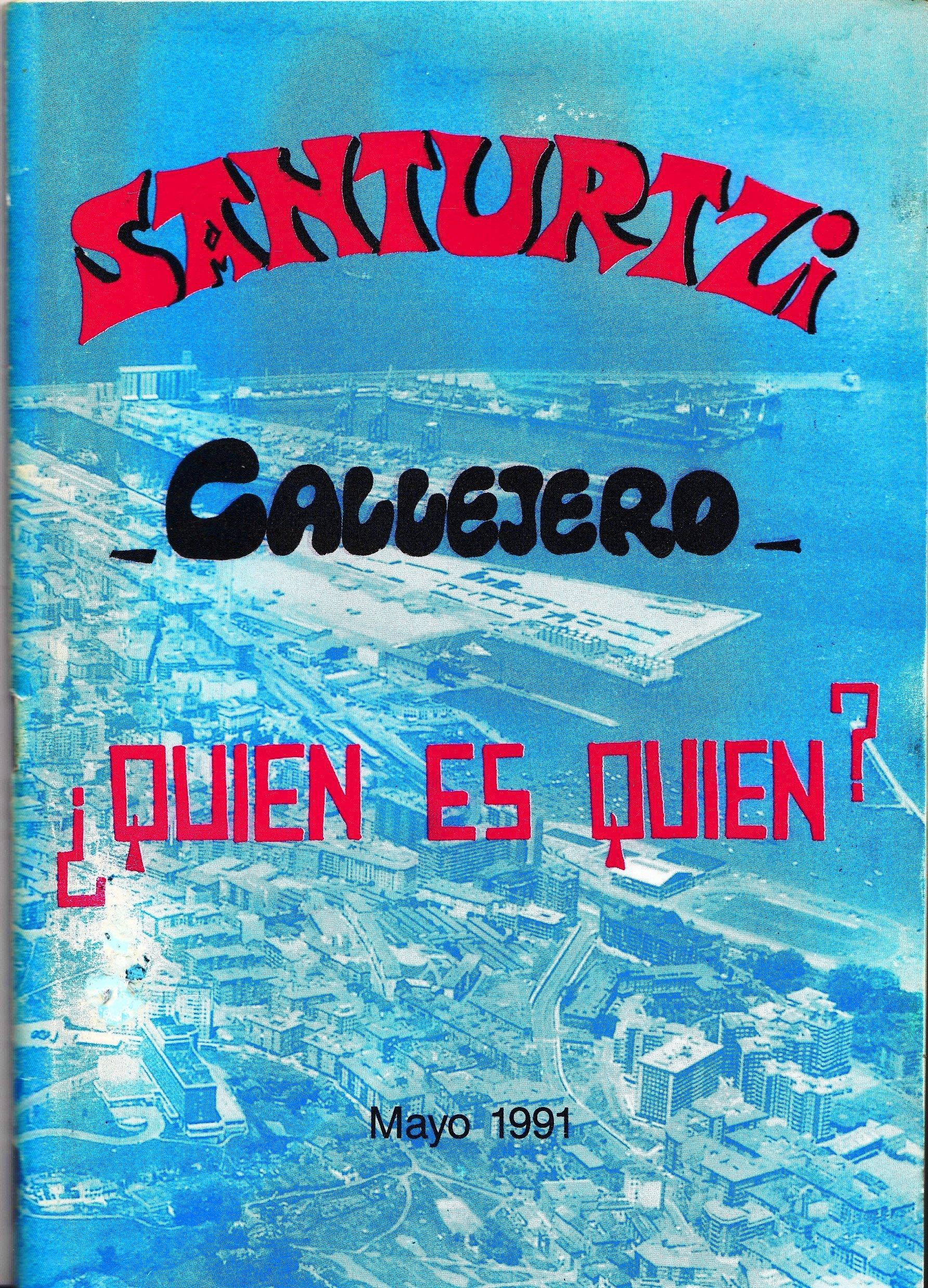 Portada Callejero 1991