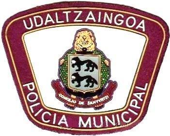 11 Policia Municipal Santurtzi (parche antiguo)