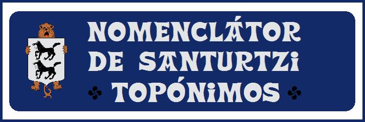0 Nomenclátor de Santurtzi-Topónimos