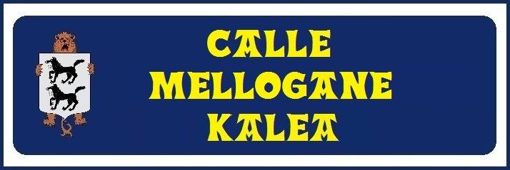 Calle Mellogane (no hay placa)