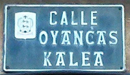 Calle Oyancas