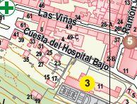 Plano Situación Cuesta Hospital Bajo