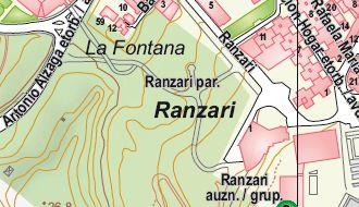 Plano Situación Ranzari