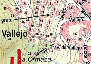 Plano Situación Vallejo