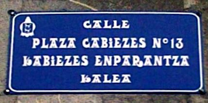 Plaza Cabiezes