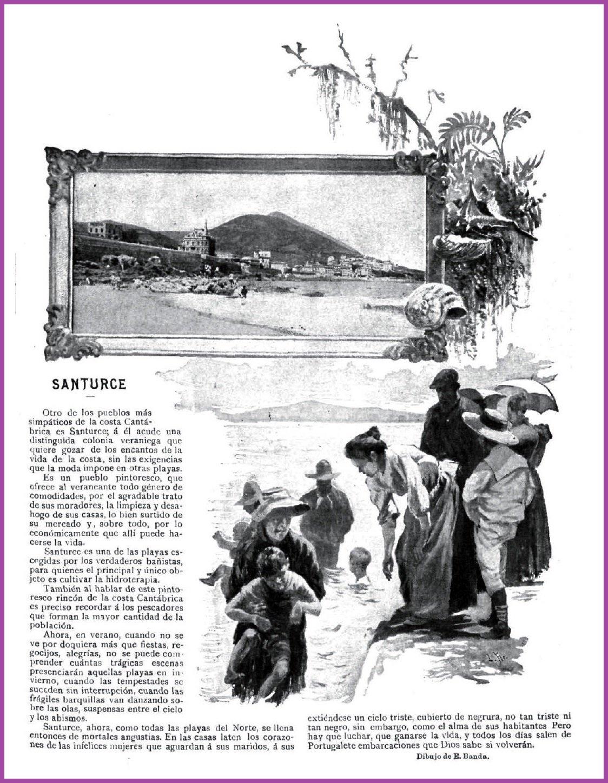 Santurce lugar de veraneo en 1897 - copia