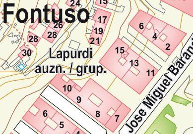 Plano Situación Lapurdi