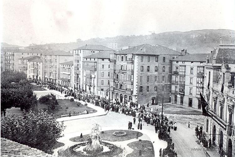 Procesión Corpus 1925 o 1927-1