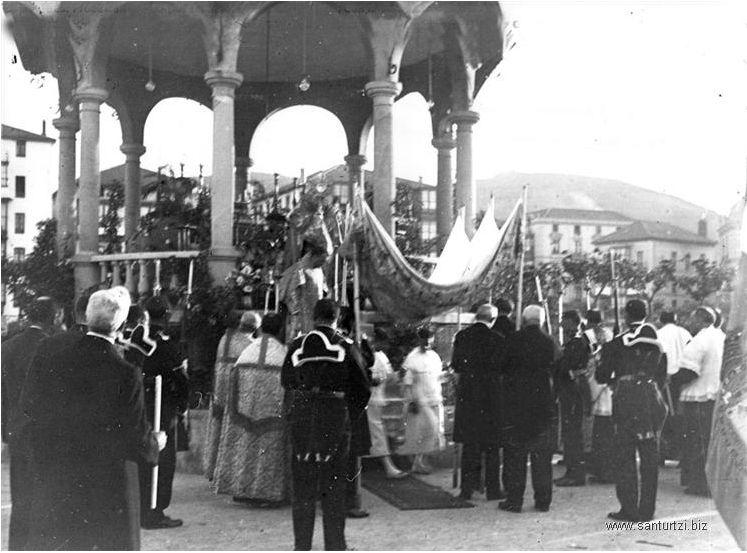 Procesión Corpus 1925 o 1927-5