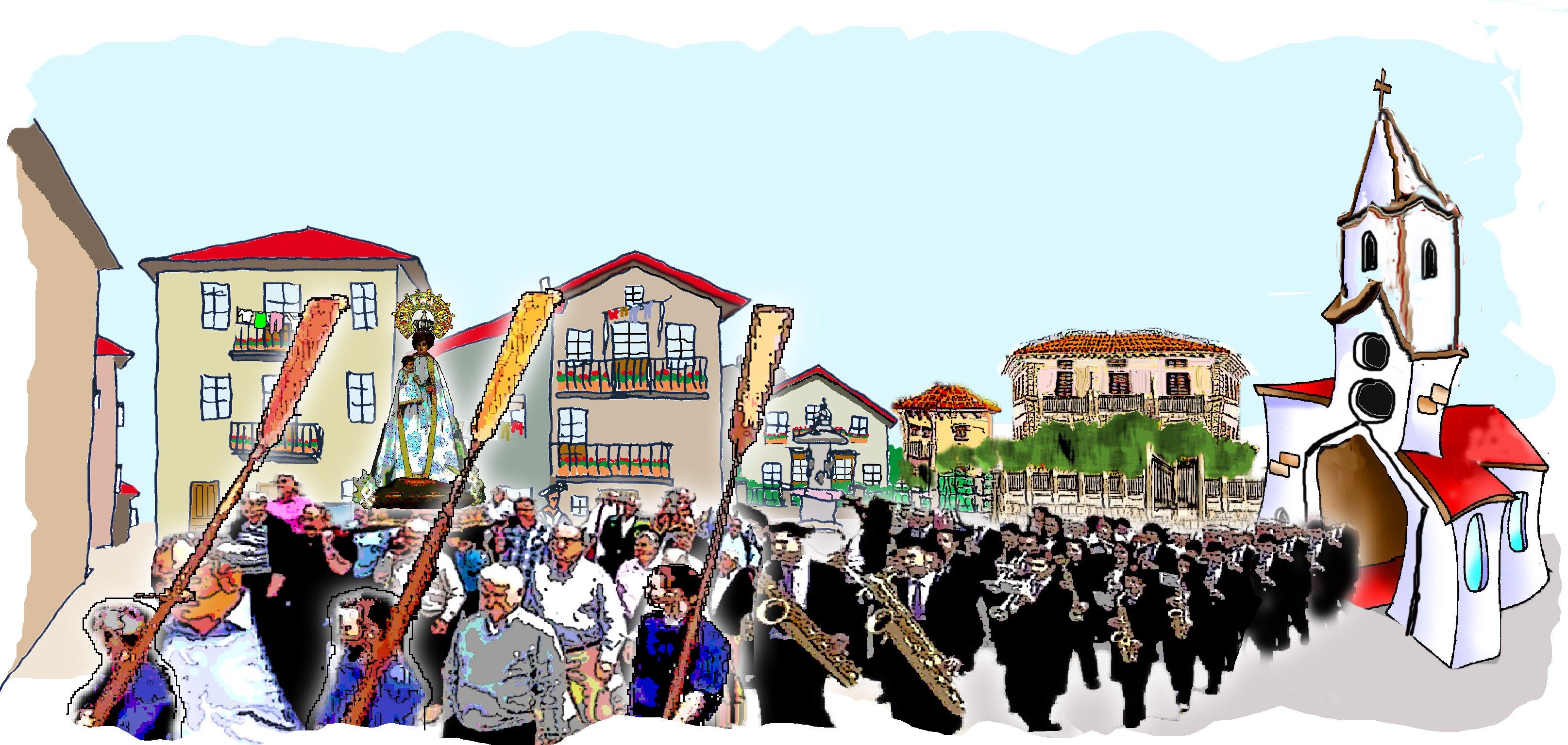 procesion barrio