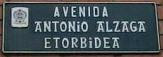 Avenida Antonio Alzaga