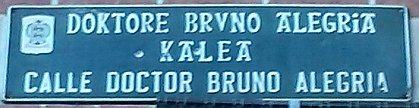 Calle Doctor Bruno Alegría-1