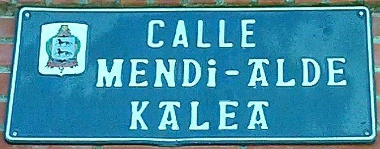 Calle Mendi-Alde