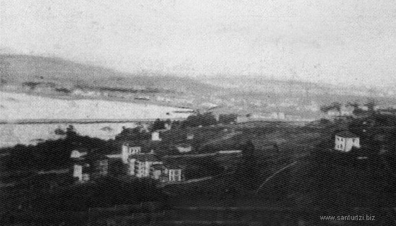 Casa Bañales hacia 1900